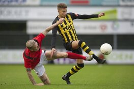 Rijnsburgse Boys wint in topper van AFC