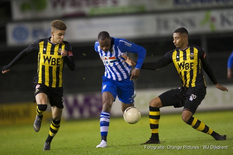 Rijnsburgse Boys na rust geklopt door FC Eindhoven