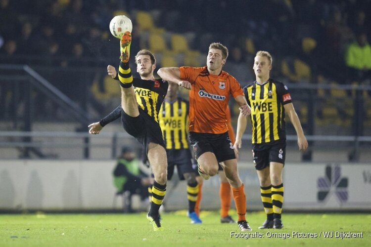 Katwijk wint ruim bij zwak Rijnsburgse Boys
