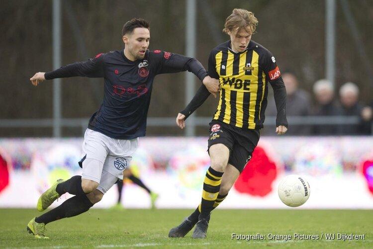 Rijnsburgse Boys wint van Jong Sparta