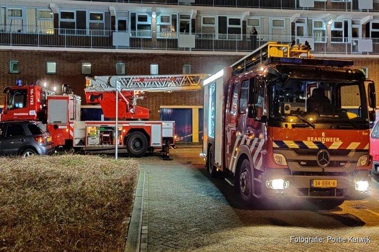 Brand in flat Colijnstraat