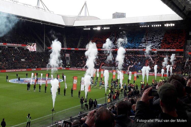 PSV en Feyenoord geven elkaar niets toe