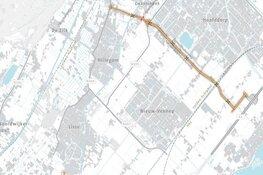 Dikke streep door Duinpolderweg wekt grote verbazing bij Zuid-Hollandse buren