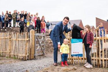 Nieuwe speeltuin geopend in de Duinvallei