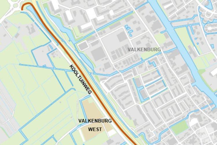 Aanleg bouwweg RijnlandRoute langs Kooltuinweg